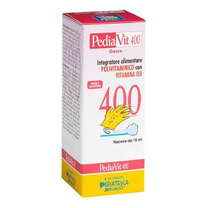 PEDIAVIT 400 GOCCE 15ML