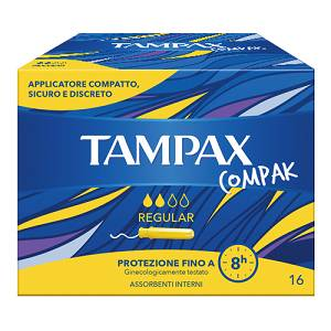 TAMPAX Compak Regular 16pz